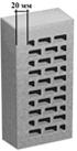 Кирпич облицовочный евро 250*85*65 М-150